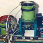 Macchine per l'industria dell'auto per l'assemblaggio maniglie interne Fiat UNO