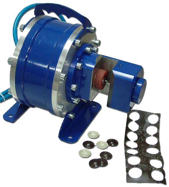 Pressa per borchie da lattoneria e grondaie a stampo for Costruire pressa idraulica